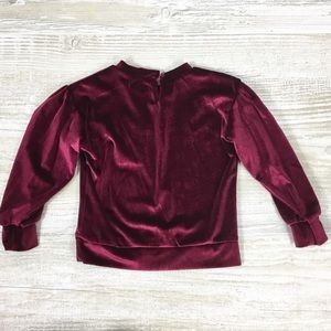 7 For All Mankind Shirts & Tops - KIDS: NWT 7 for all Mankind Velvet Long Sleeve Top